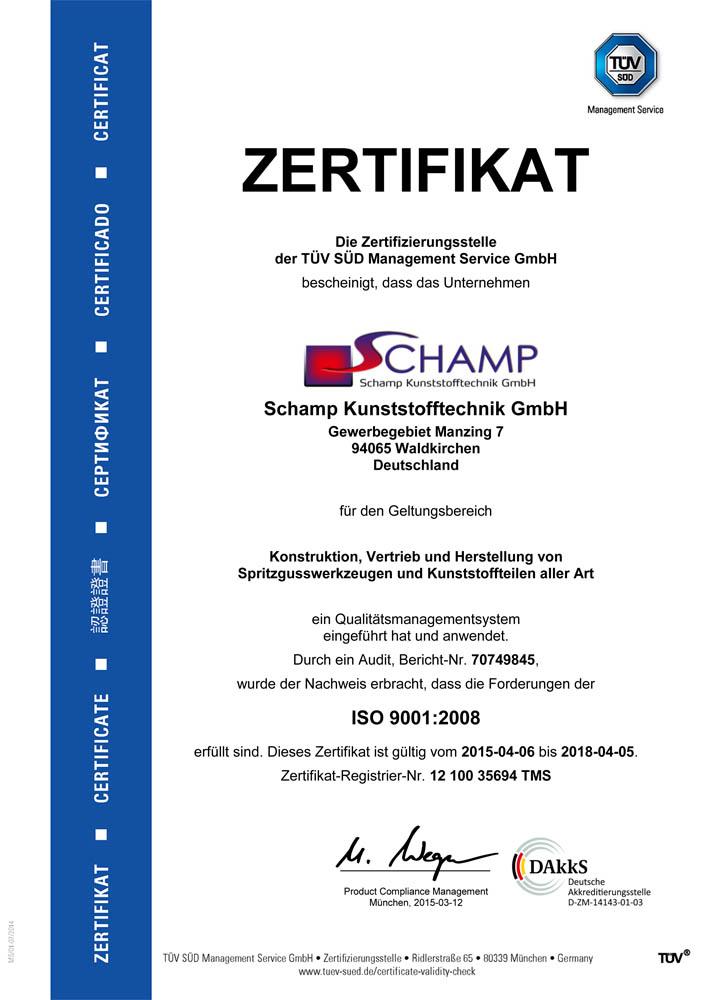 DIN ISO 9001-2008 De